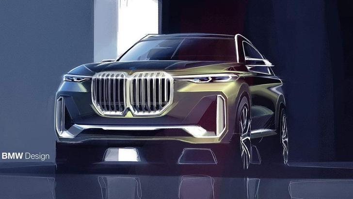 Фото №1 - BMW выпустит флагманский внедорожник X8