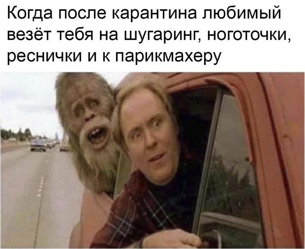 Фото №1 - 30 самых смешных мемов про карантин, которые мы собрали в интернете