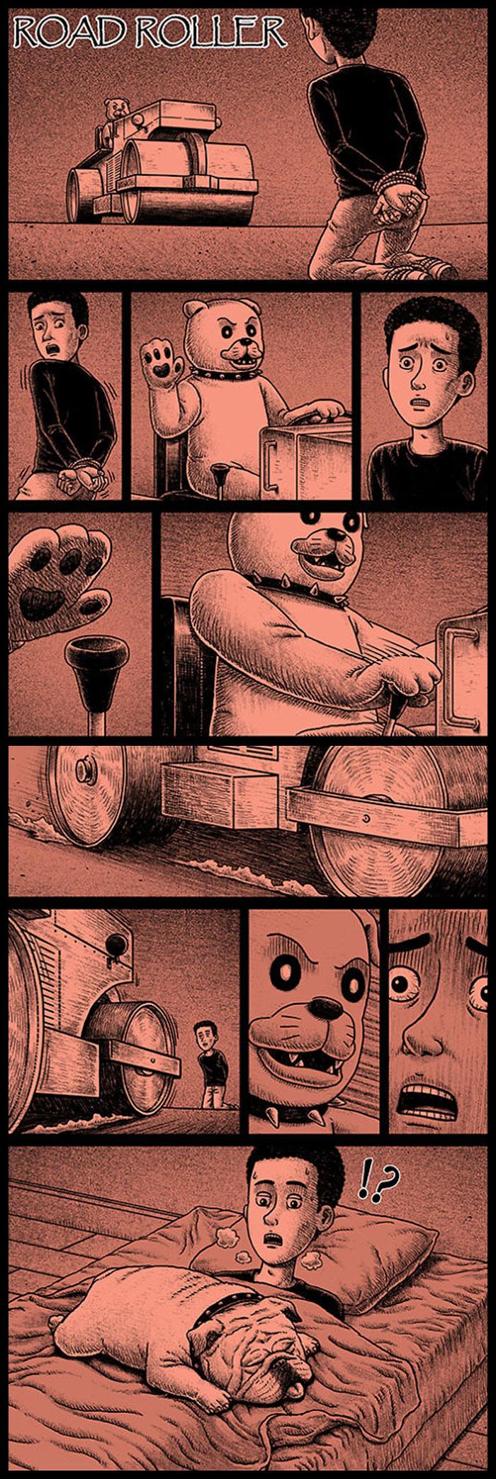 Фото №15 - 30 комиксов с отборным черным юмором от Бена Чена