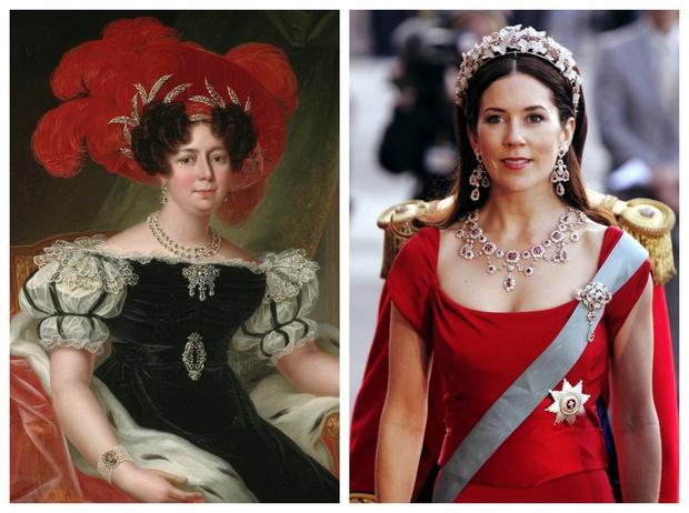 Фото №1 - От невесты Наполеона до кронпринцессы Мэри: история самой необычной королевской тиары