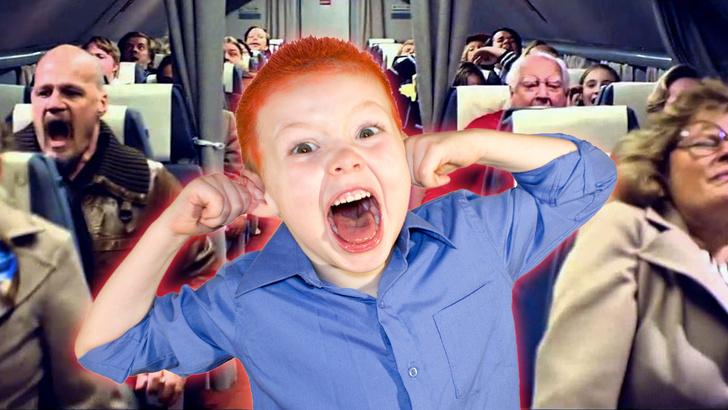 Фото №1 - «Японские авиалинии» стали предупреждать пассажиров, на каких местах в самолете будут сидеть дети