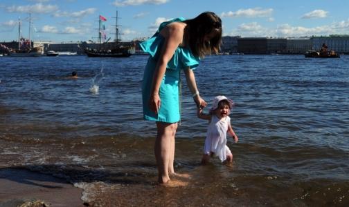 Фото №1 - В Петербурге нашли один пляж с чистой водой