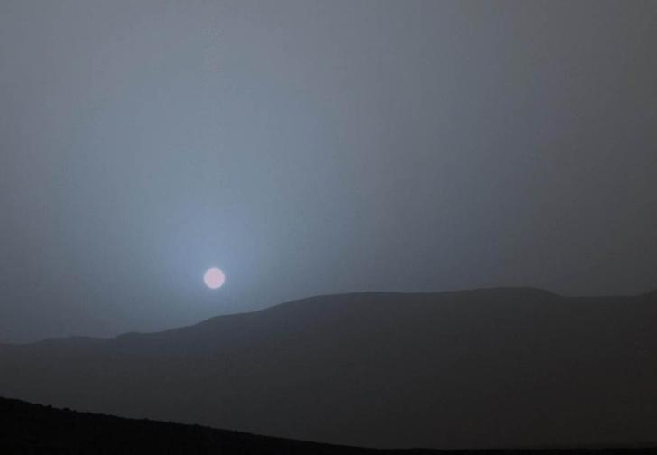Фото №1 - Учёный смоделировал, как выглядят закаты на других планетах Солнечной системы (видео)
