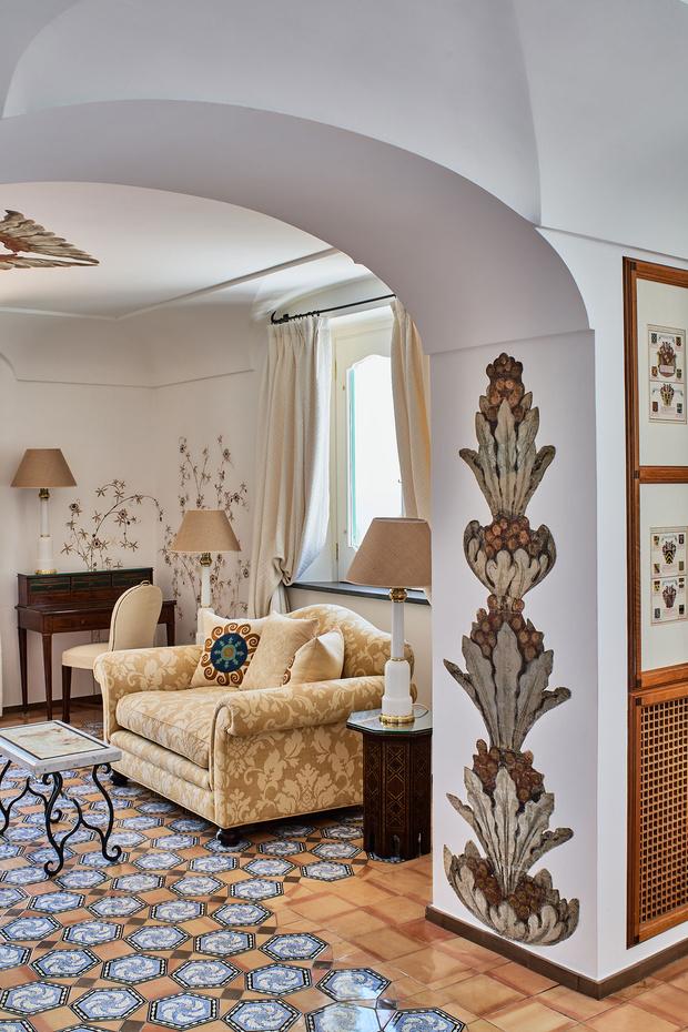 Фото №5 - Отель Le Sirenuse в здании XVIII века в Позитано