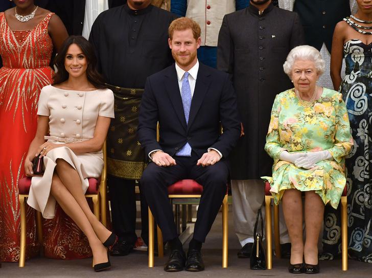 Фото №2 - Гарри не остался на 95-й день рождения королевы и вернулся в Калифорнию
