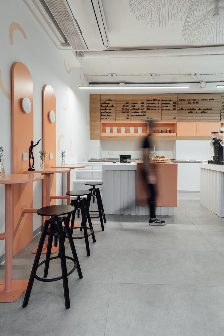 Фото №3 - Кофейня 40 м²в Калуге: проект студии Design Rocks