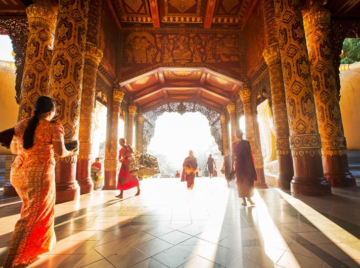 Фото №4 - Будда правит Бирмой, или отдых в Мьянме