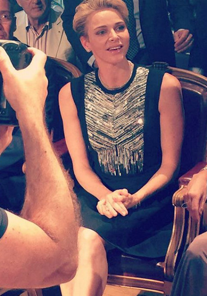 Фото №1 - Как княгиня Монако Шарлен провела июнь