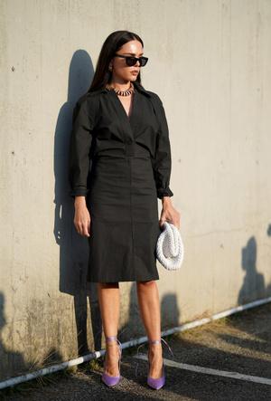Фото №13 - И в будни, и на выходных: с чем носить платья-рубашки