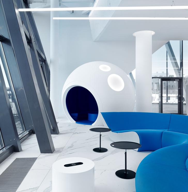 Фото №1 - VIP-зал в аэропорту «Гагарин» по проекту VOX Architects