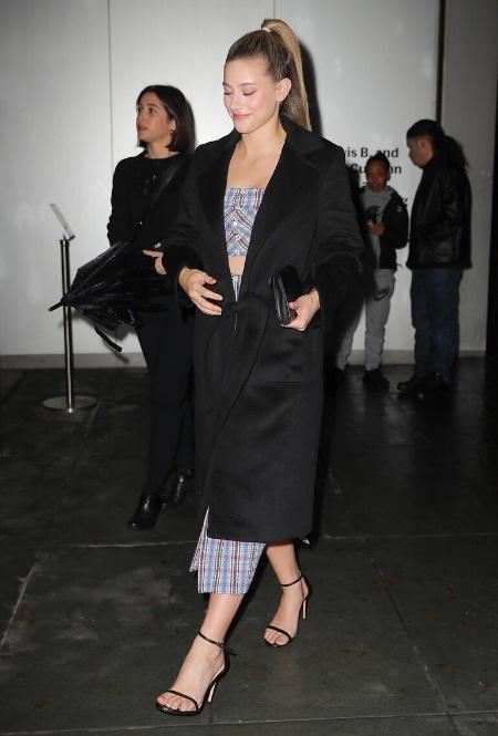 Лили Рейнхарт в Нью-Йорке