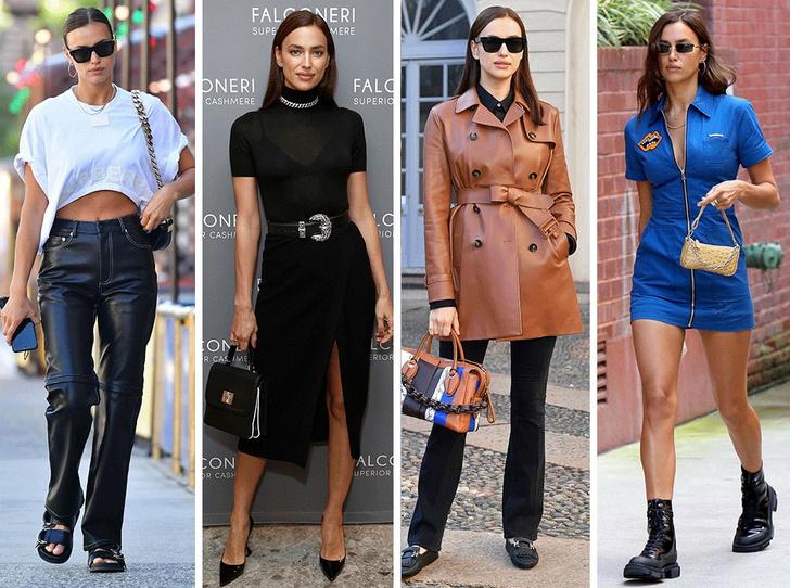 Фото №1 - Как одевается самая модная российская топ-модель: 6 правил стиля Ирины Шейк