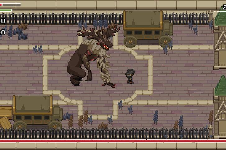 Фото №1 - Независимый разработчик воссоздал Bloodborne в 2D. Можно скачать и поиграть