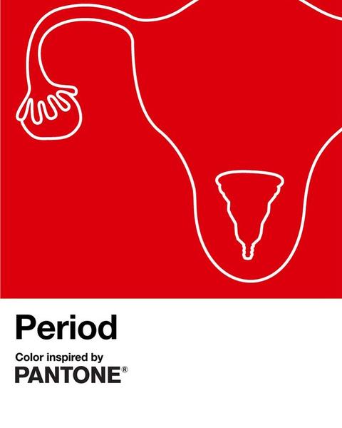 Фото №2 - Институт цвета Pantone создал новый оттенок, вдохновленный менструацией