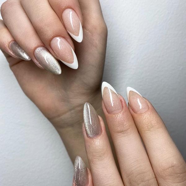 Фото №12 - Velvet nails: идеальный сияющий маникюр на лето