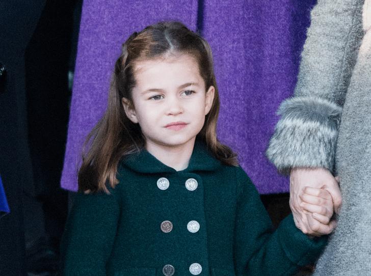 Фото №1 - «Взрослая» прическа и стильное платье: в сети обсуждают новое фото принцессы Шарлотты