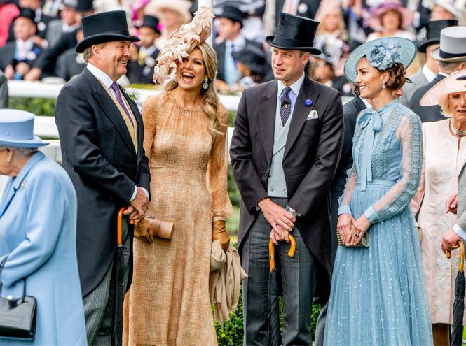 Фото №4 - Лучшие образы на открытии Royal Ascot 2019 (и несколько безумных шляп)