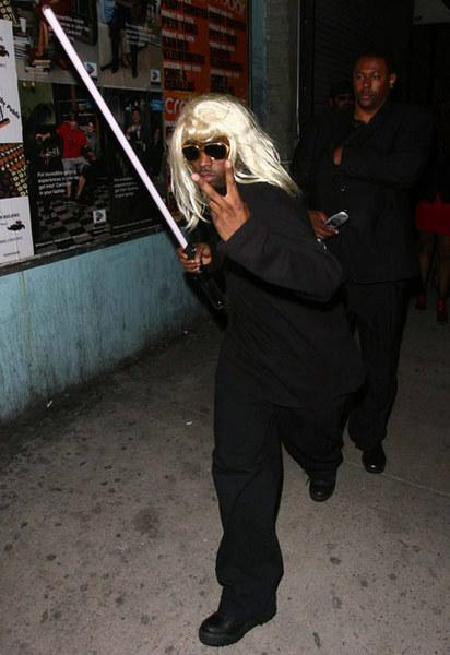 На Хэллоуин даже P Diddy готов стать джедаем