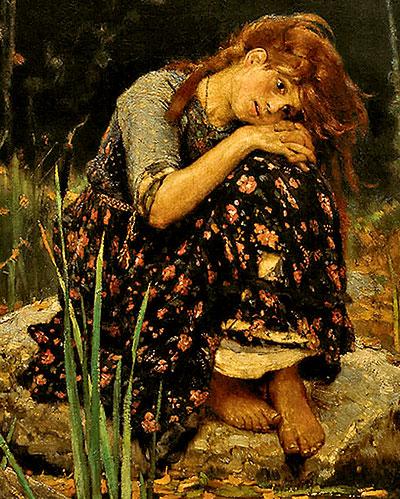 Фото №2 - Девочка с персиками. Первая версия