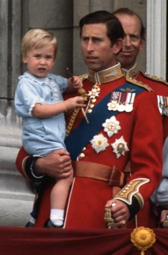 Фото №5 - Принц Луи дебютировал на королевском мероприятии (в одежде принца Гарри)