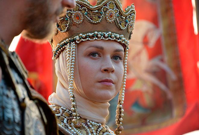 Светлана Колпакова в роли великой княжны