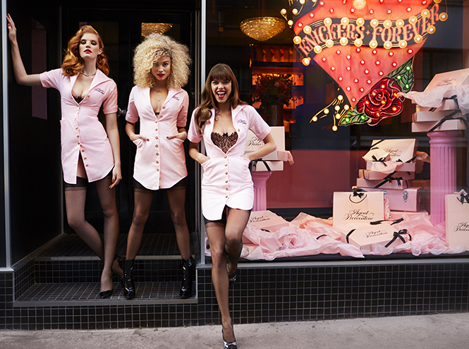 Лукбук: Agent Provocateur AW2015/16