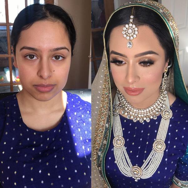 Фото арабских невест до и после