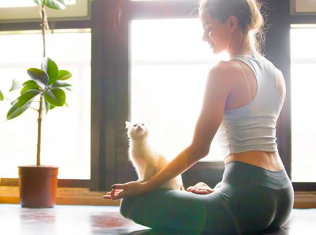 Фото №1 - Женская йога: 8 простых и очень полезных упражнений