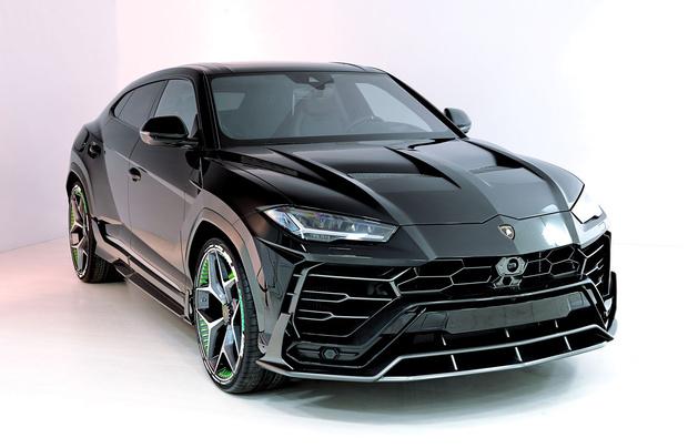 Фото №1 - Российская компания представила рестайлинг для Lamborghini Urus