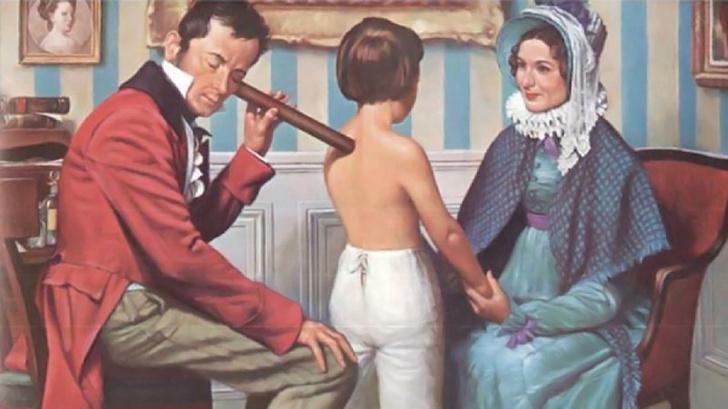 Фото №1 - Рене Лаэннек— врач, который не хотел трогать женщин за грудь и поэтому стал великим