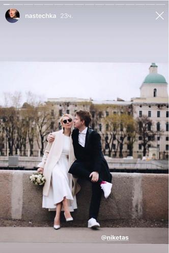 Фото №8 - Как выглядит свадебный альбом пары, которая поженилась онлайн