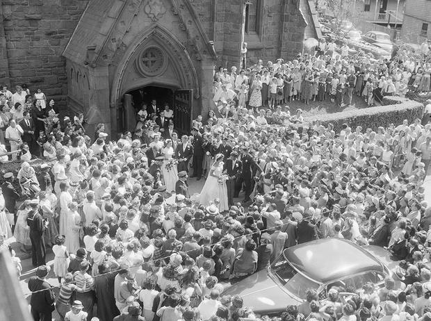 Фото №3 - Свадьба Джона и Жаклин Кеннеди: 9 несказочных фактов