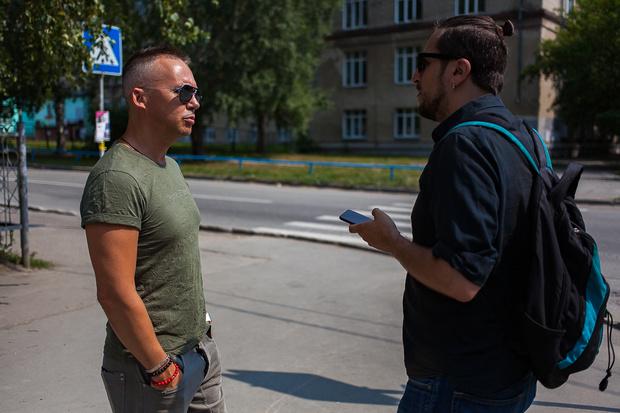 Фото №12 - На связи: прогулка в районе СибГУТИ с ведущим Алексеем Шипелкиным