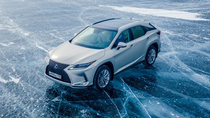 Фото №6 - Lexus покоряет Байкал: лед, вода и медные трубы