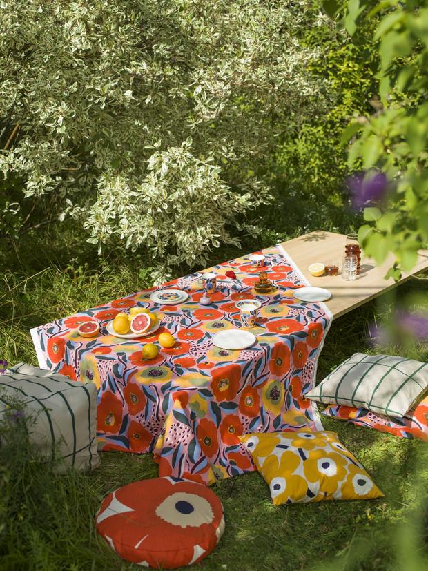 Фото №4 - Модные скатерти для летнего стола