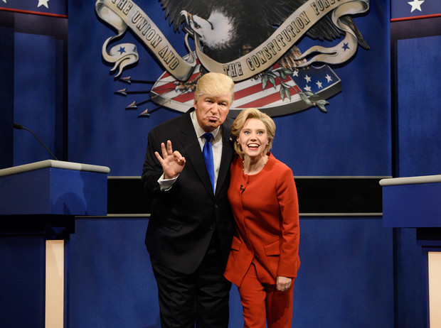 Фото №1 - Пошутить над Трампом: звезды Emmy-2017 «троллят» президента