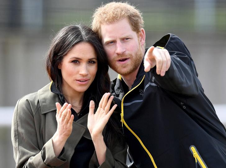 Фото №2 - Меган Маркл и принц Гарри приехали на спортивное соревнование