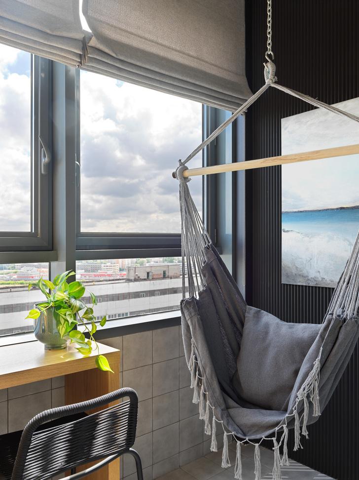 Фото №13 - Монохромная квартира 57 м² для молодой пары в Москве