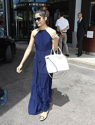 Фото №4 - Как у звезды: сумка Longchamp Le Pliage Heritage