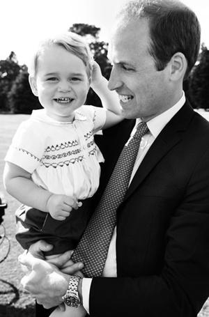 Фото №42 - Самые трогательные моменты крестин детей герцогов Кембриджских