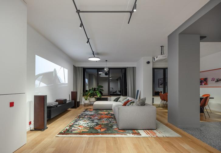 Фото №1 - Квартира 260 м² для семьи с тремя детьми и собакой