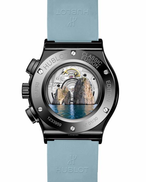 Фото №2 - Красота природы Капри в новой серии Hublot Classic Fusion Chronograph Special Edition Capri