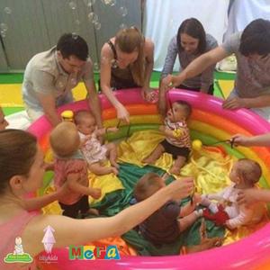 Фото №1 - Бесплатные занятия Baby Sensory и Toddler Sense с малышами