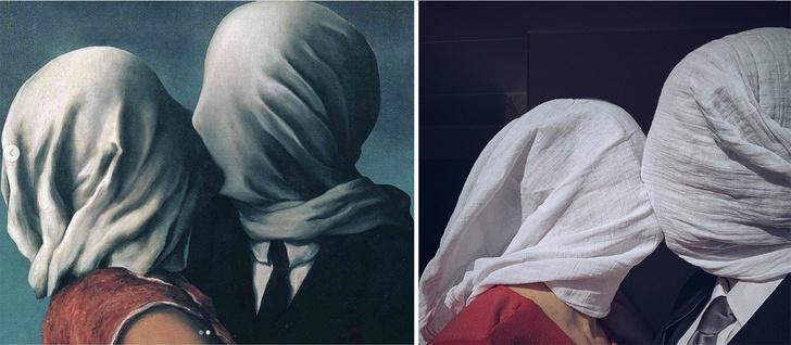 Фото №5 - #Изоизоляция: русскоязычные пользователи в карантине копируют знаменитые картины