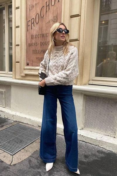 Фото №2 - С чем носить широкие джинсы: 7 стильных образов