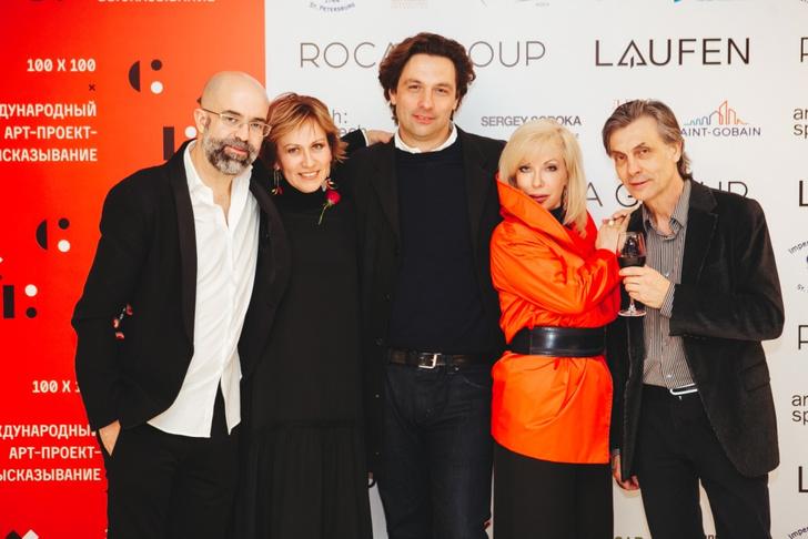 Фото №1 - В новом выставочном пространстве Roca Group состоялся запуск международного арт-проекта 100×100Art