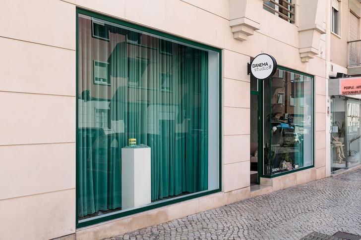 Фото №13 - Концепт-стор в зеленых тонах в Лиссабоне