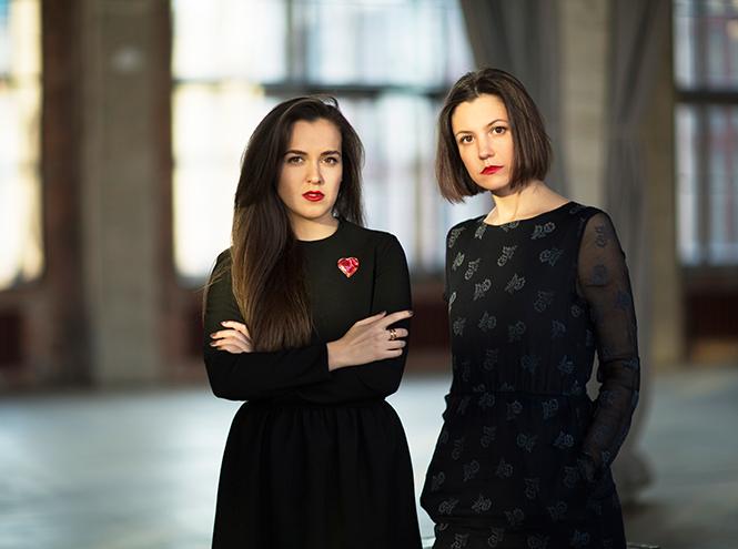 Евгения Сорокина (справа) и Мария Уварова