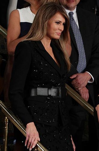 Фото №16 - Мелания Трамп: новые стандарты стиля Первой леди