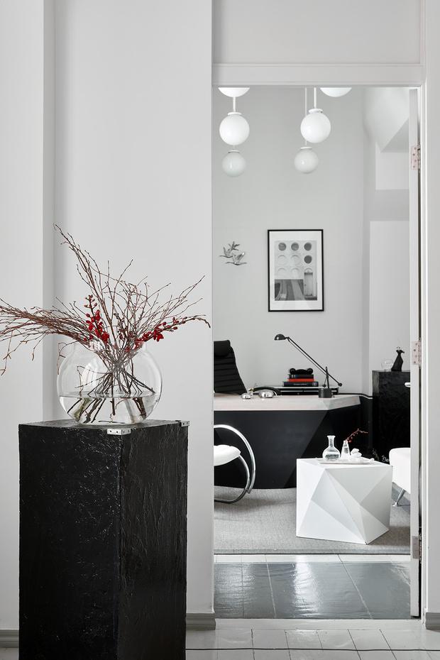 Фото №5 - Черно-белый офис с видом на Москву-реку